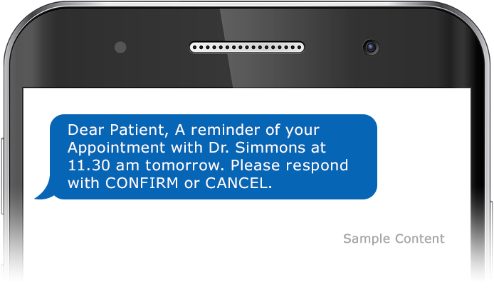 Appointment Reminder Confirmation SMS